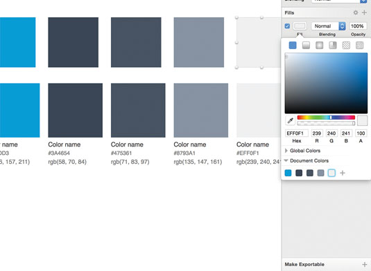 Building your colour library