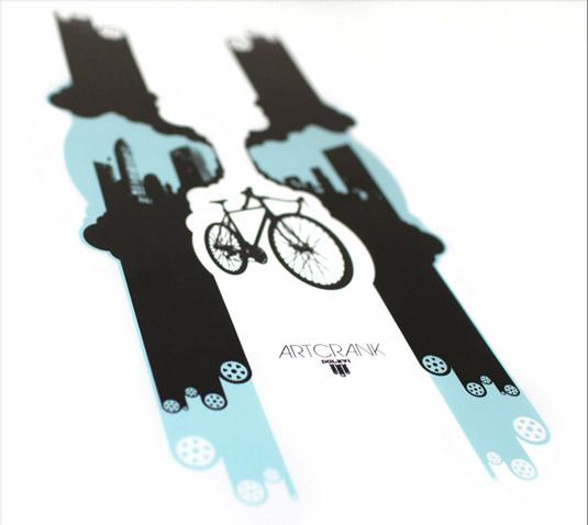 Bike art: Artcrank