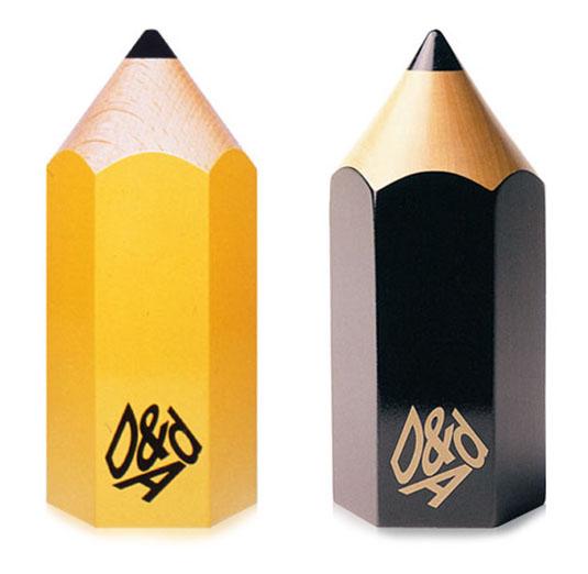 Win a design award: D&AD Yellow Pencil