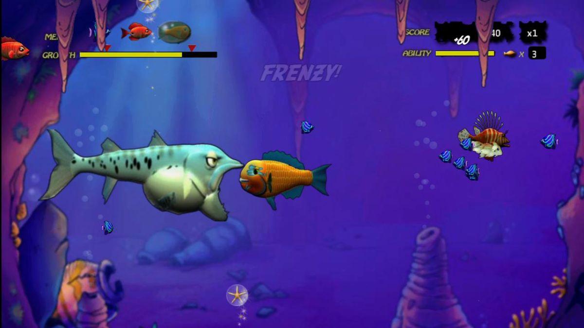 Feeding frenzy xbox live arcade review gamesradar for Feeding frenzy fish