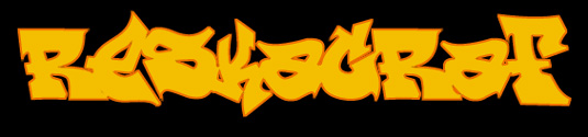 Graffiti font ReskaGraf