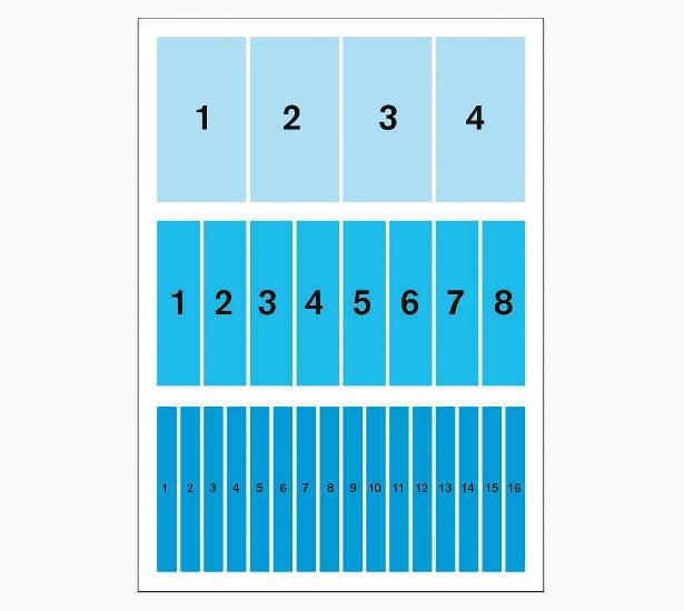 Use a column grid: step 3