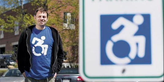 'Handicapped' logo redesigned for the 21st century ... Handicap Logo Redesign