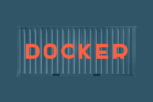 Free fonts: Docker