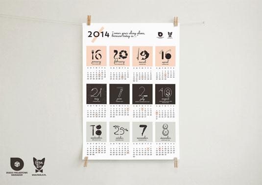 Event Calendar Design Inspiration : Amazing calendar designs for creative bloq