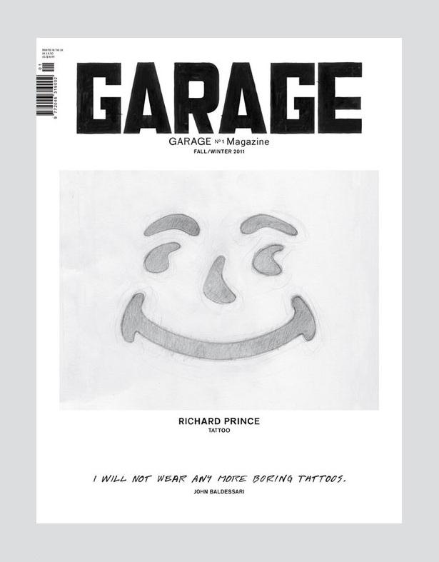 Garage magazine cover 02