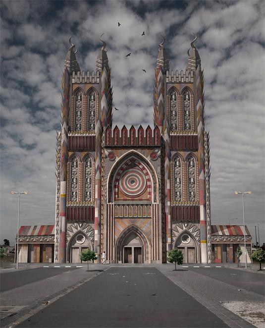 post-apocalyptic architecture