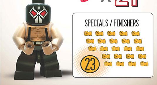 Batman infographic: Lego
