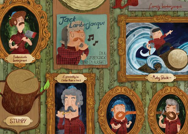 Family Lamberjacue by Jimmy Rogers