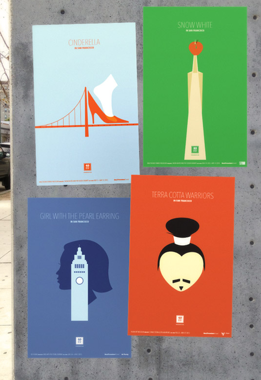 Travel posters - San Francisco