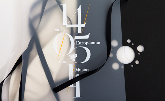 Invitation design: Murmure 1