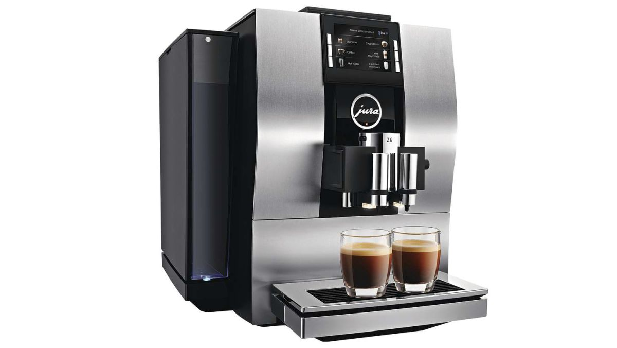 High End Office Coffee Maker : Jura Z6 review: a high-end coffee machine that delivers a broad range of beverages T3
