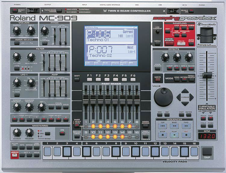 roland mc 808 review musicradar. Black Bedroom Furniture Sets. Home Design Ideas