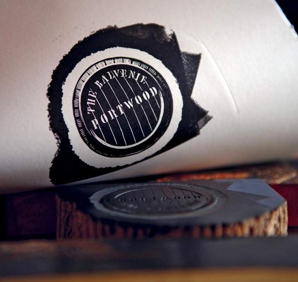 Balvenie Portwood stamp by Here Design