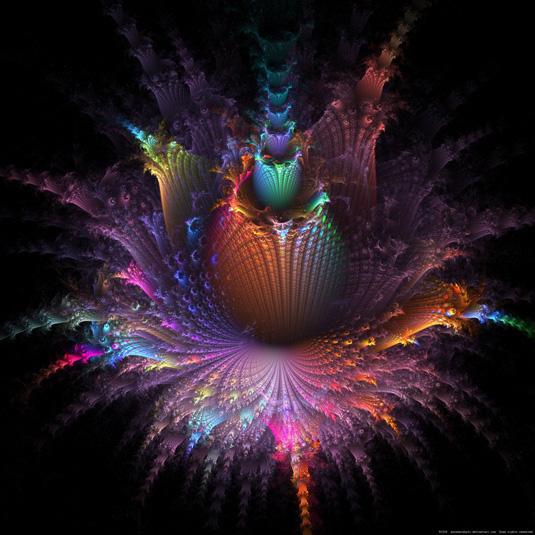 Fractal art: Fleur D'apo
