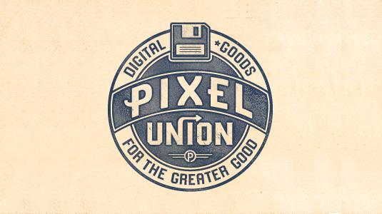 Logotype: Pixel Union