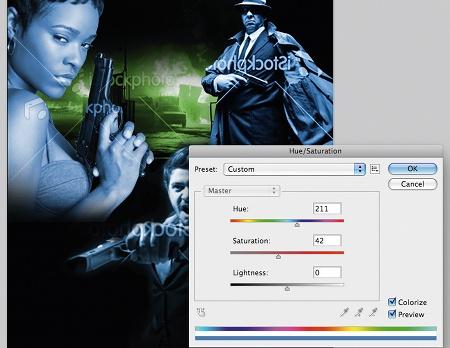 photoshop composition