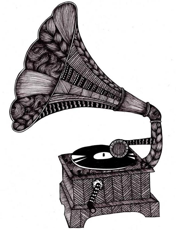 Tovelisa Design - Grammofon