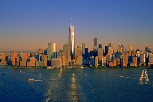 Famous buildings: The One World Trade Center in New York