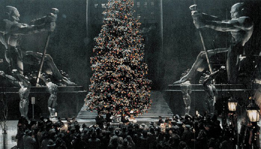Gotham: Plaza in Batman Returns