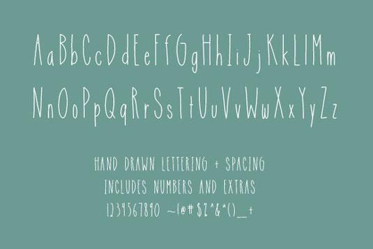 Free Spirit font