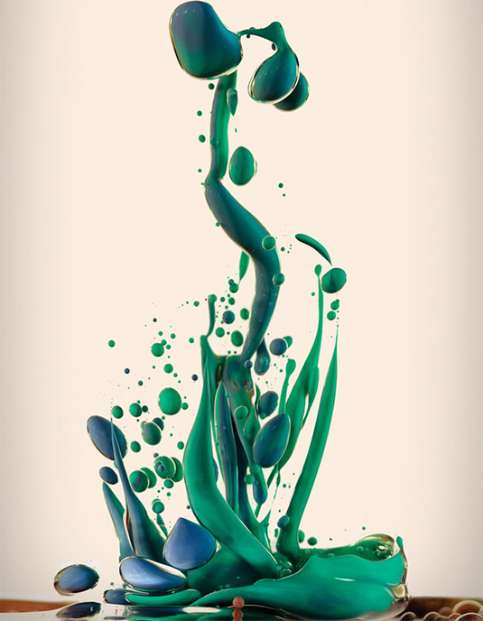 ink oil photos