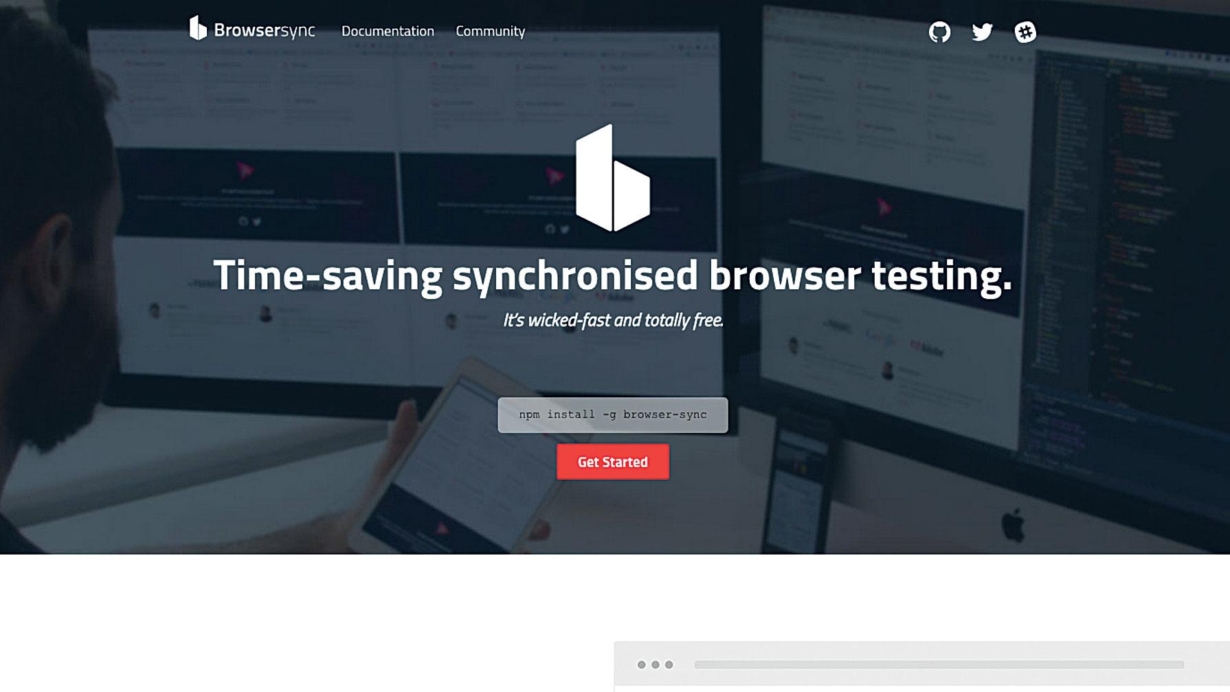 50 free web tools - Browsersync