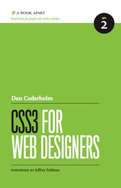 Web design books: CSS3 for Web Designers