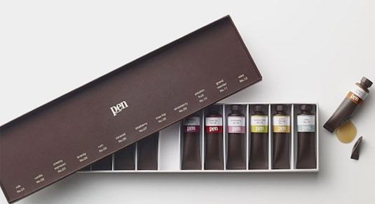 Chocolate paints