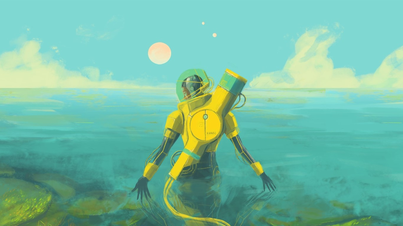 Sci-fi exploration game In Other Waters is out today