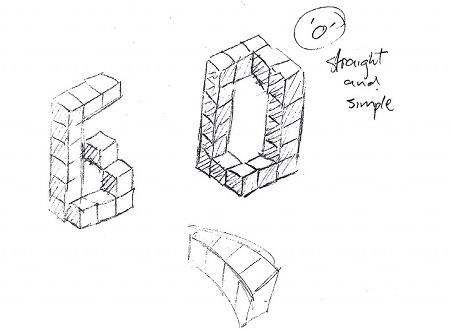 Isometric 3D sketch