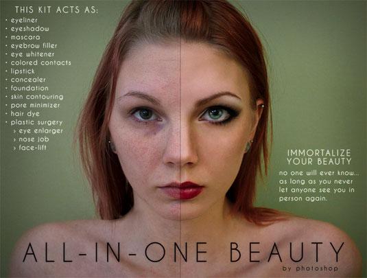 Photoshop parody ads
