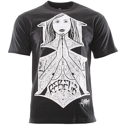 T-shirt design: Rebel 8