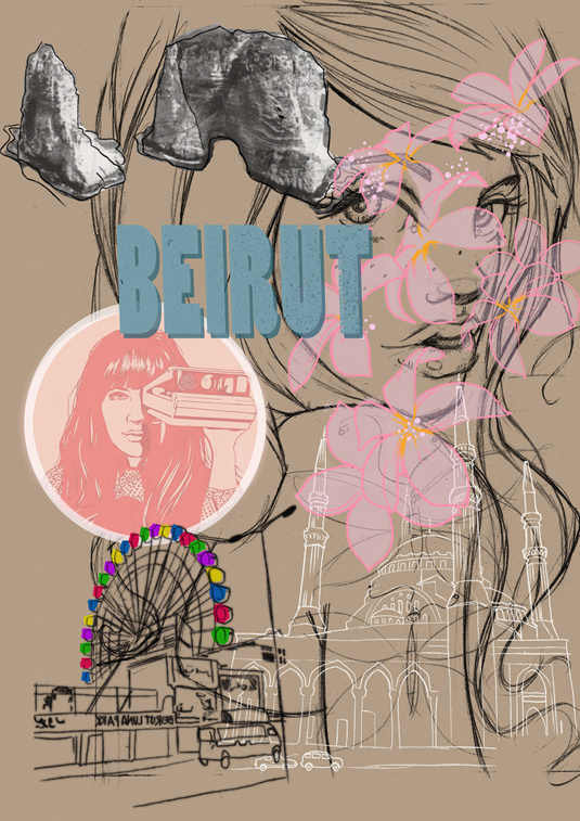 Beirut by Miss Led