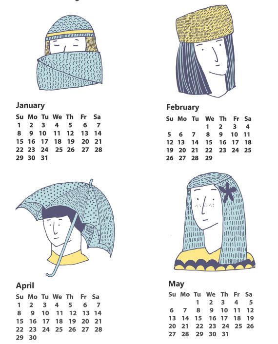 Alice Potter - 2012 calendar