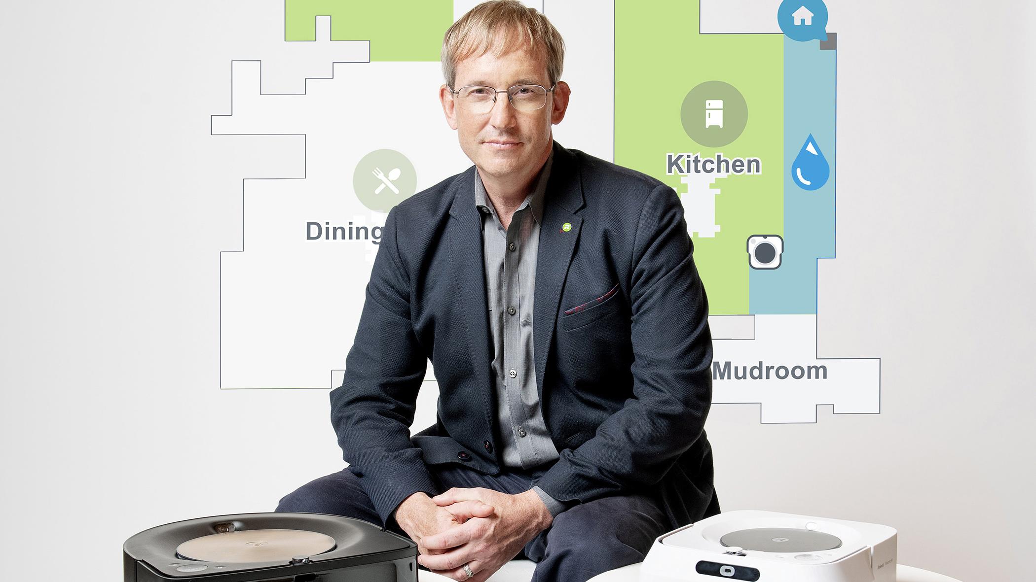 iRobot CEO Colin Angle