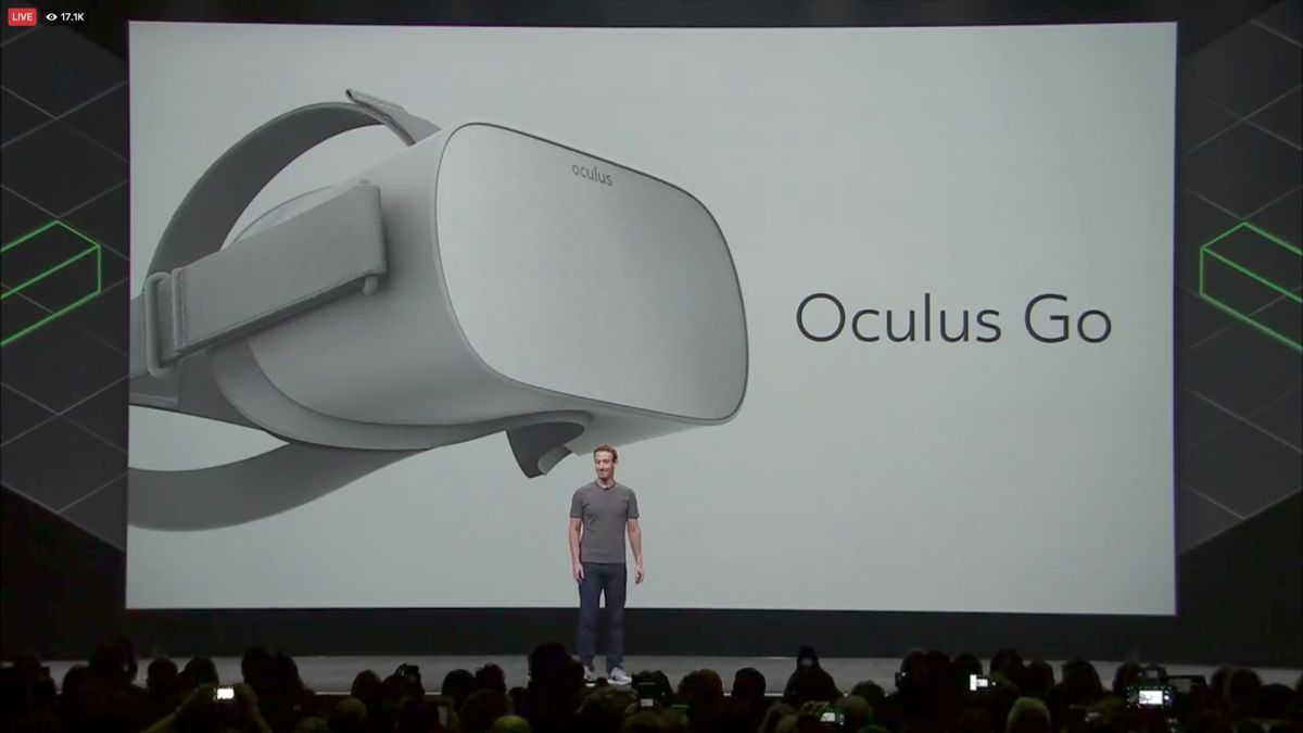 Oculus Go is Facebook's first fully wireless, standalone headset