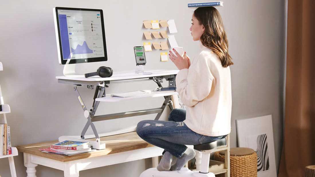 Best standing desk: FlexiSpot ClassicRiser Standing Desk Converter