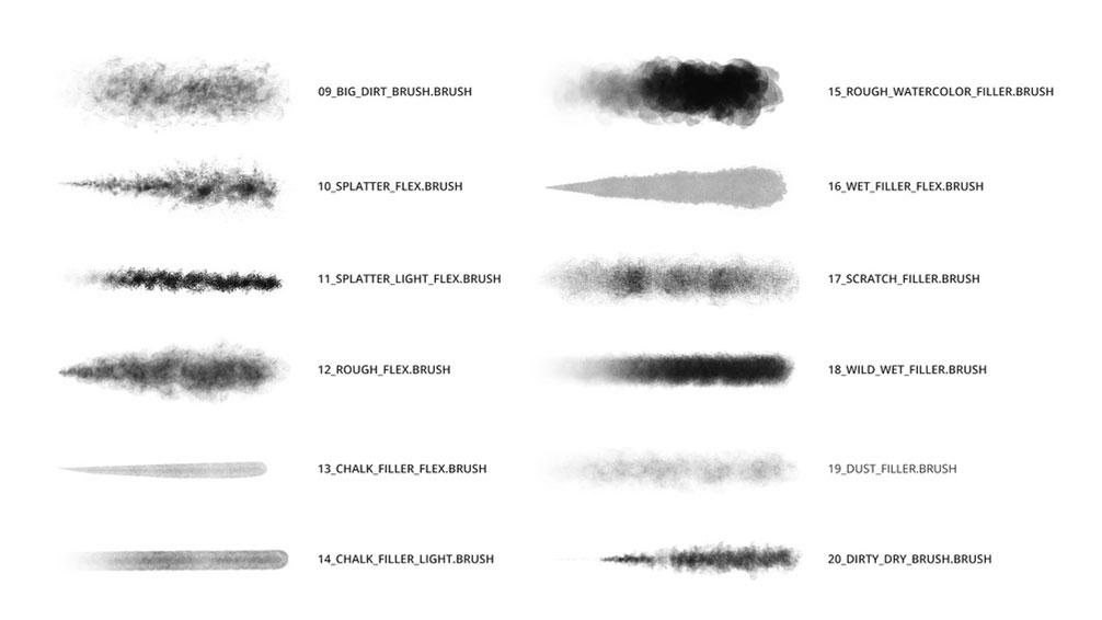 30 of the best Procreate brushes - Graphic Design | Digital