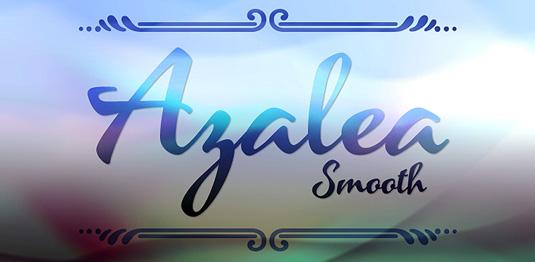 Azalea Smooth font