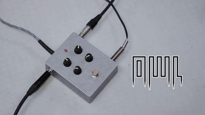 the owl open source programmable effects pedal musicradar. Black Bedroom Furniture Sets. Home Design Ideas