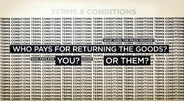 A still from a video explaining consumers' rights online, produced by the Office of Fair Trading