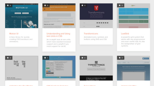 CSS resources galore