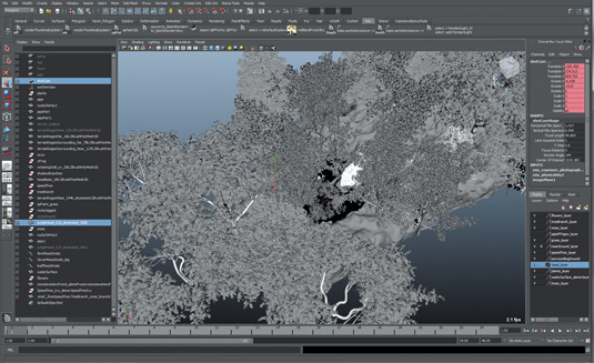 How to create a 3D nature scene