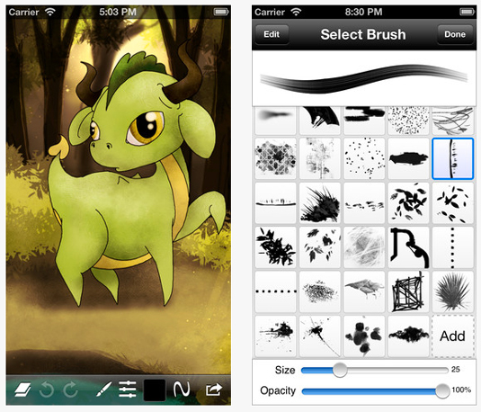 Drawing apps for ipad: Sketch Club