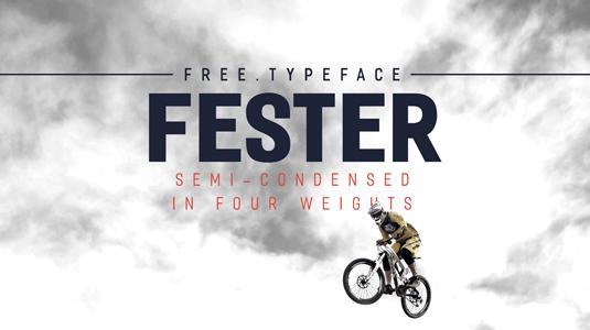 Free font: Fester