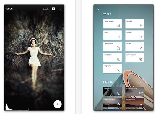 Smartphone photos: Editing