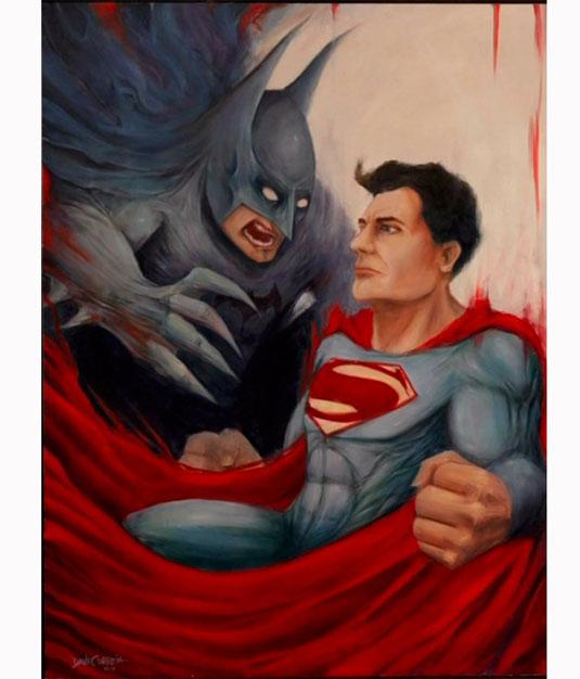 batman superman sequel concept art