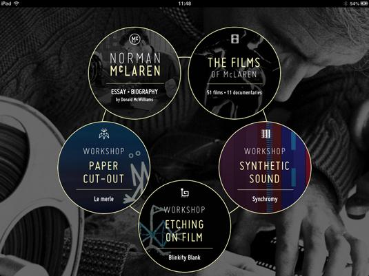 Norman McLaren app