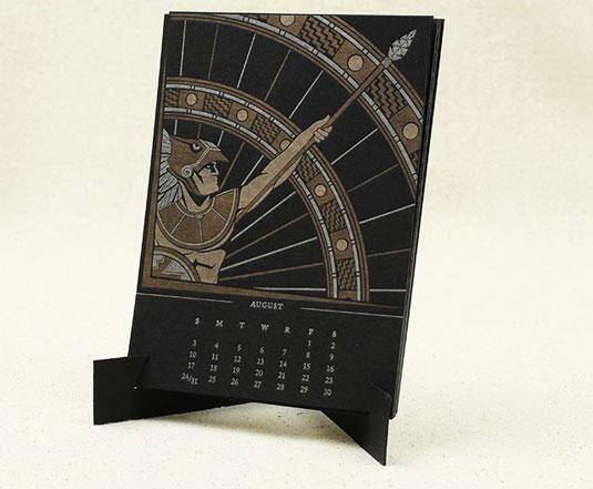 12 musketeers calendar